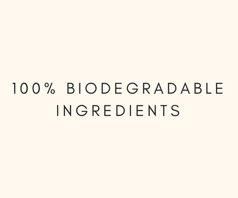 At So Good Botanicals we only use 100% Biodegradable Ingredients which do not accumulate in our environment