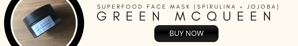 Buy Now – Green McQueen Superfood Mask by So Good Botanicals for Brighter Skin