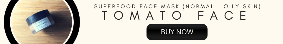 Tomato Face Superfood Mask Ultra Smooth and Soft Face by So Good Botanicals