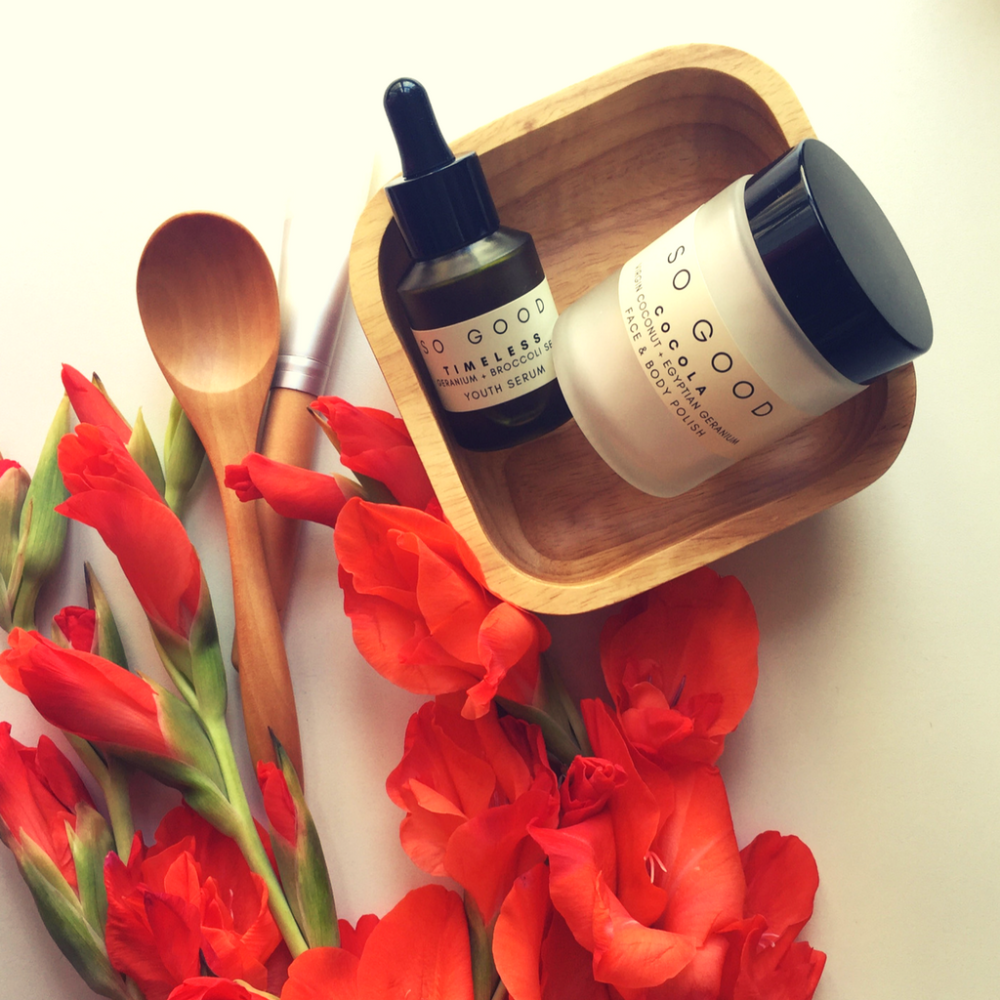 Glow Skin Set by So Good Botanicals – Delicious and beautiful Products powered by plants