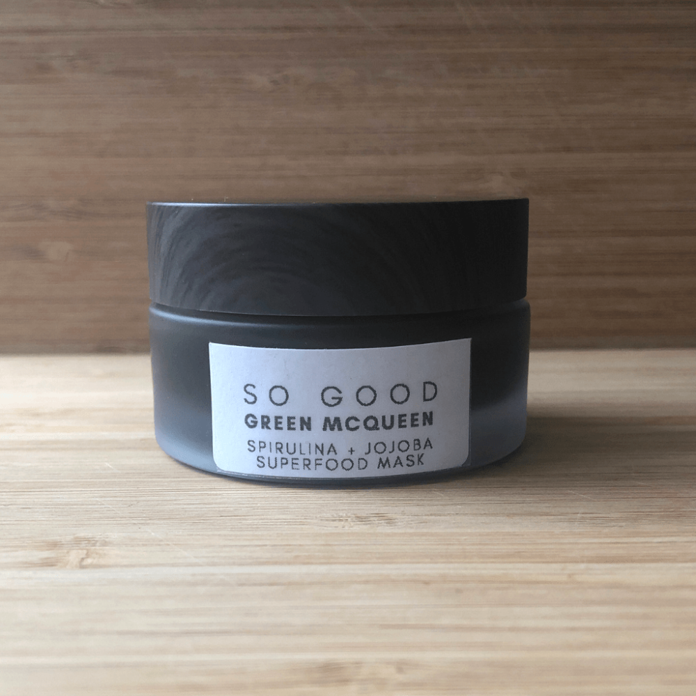 Green McQueen Face Mask by So Good Botanicals Luxurious Eco Beauty