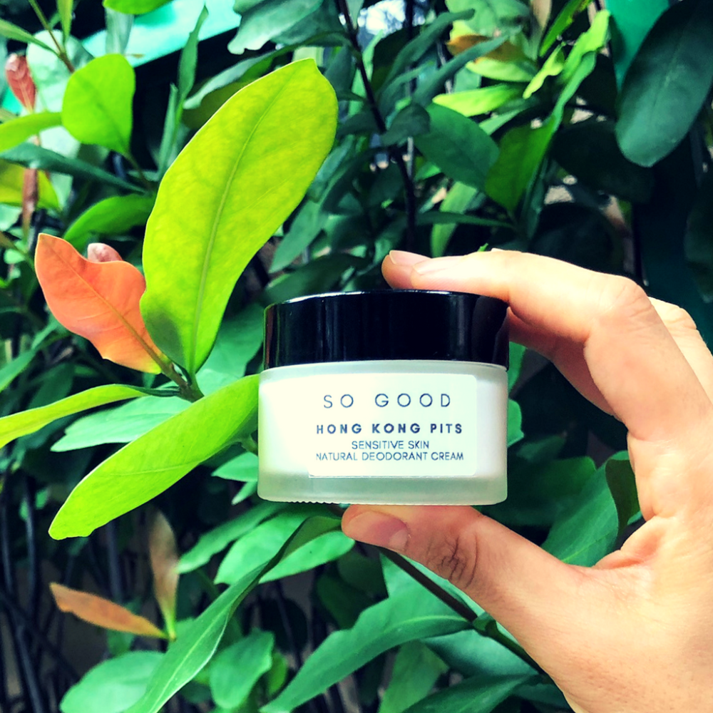 Hong Kong Pits by So Good Botanicals – Natural Deodorant for Sensitive Skin