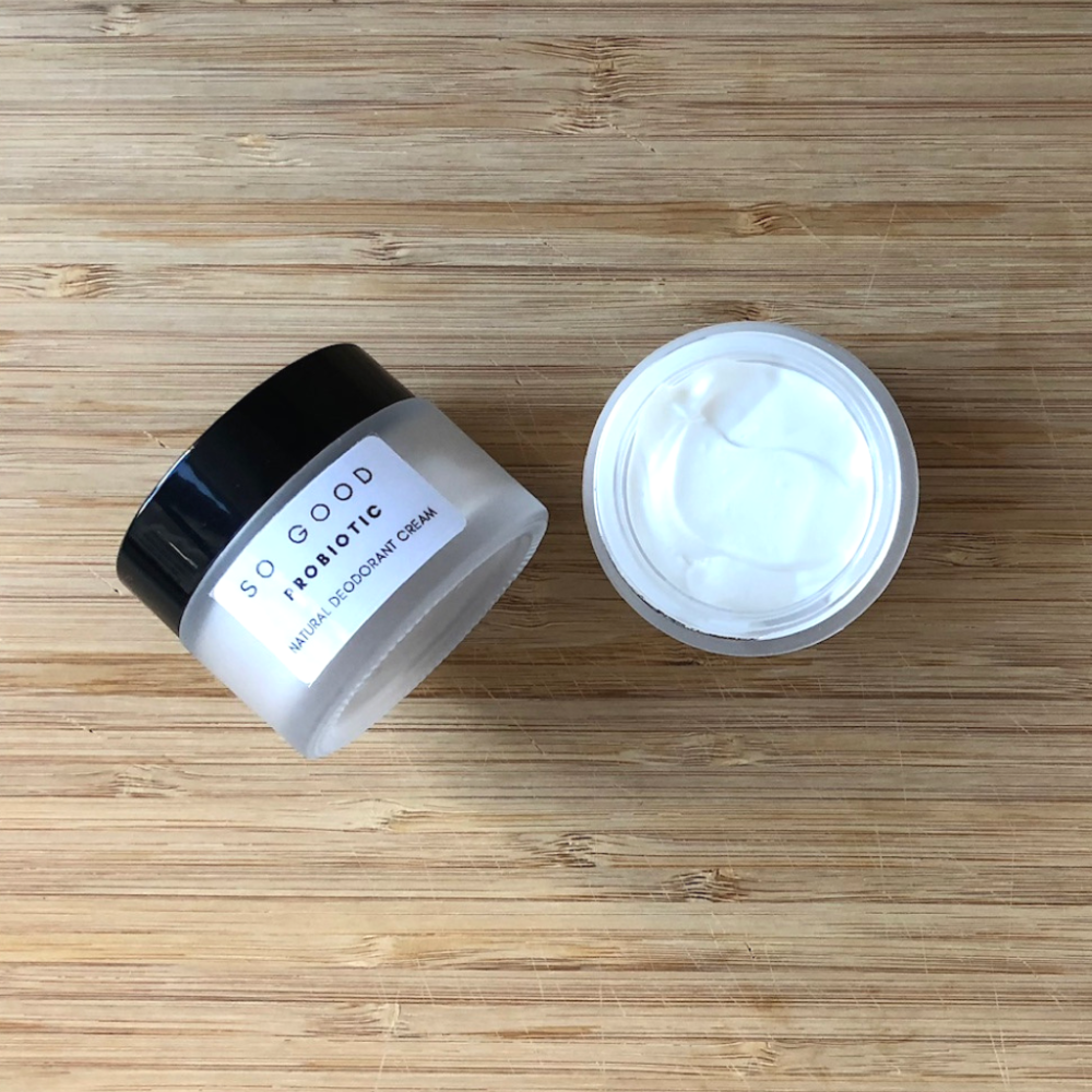 Probiotic Natural Cream Deodorant by So Good Botanicals – Natural Deodorant for Sensitive Skin