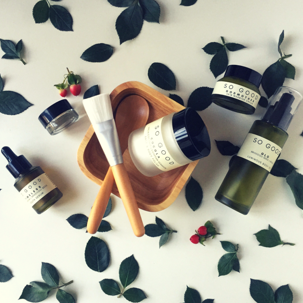 Rose Gold Set by So Good Botanicals - How to get rid of Dull, tired skin Naturally