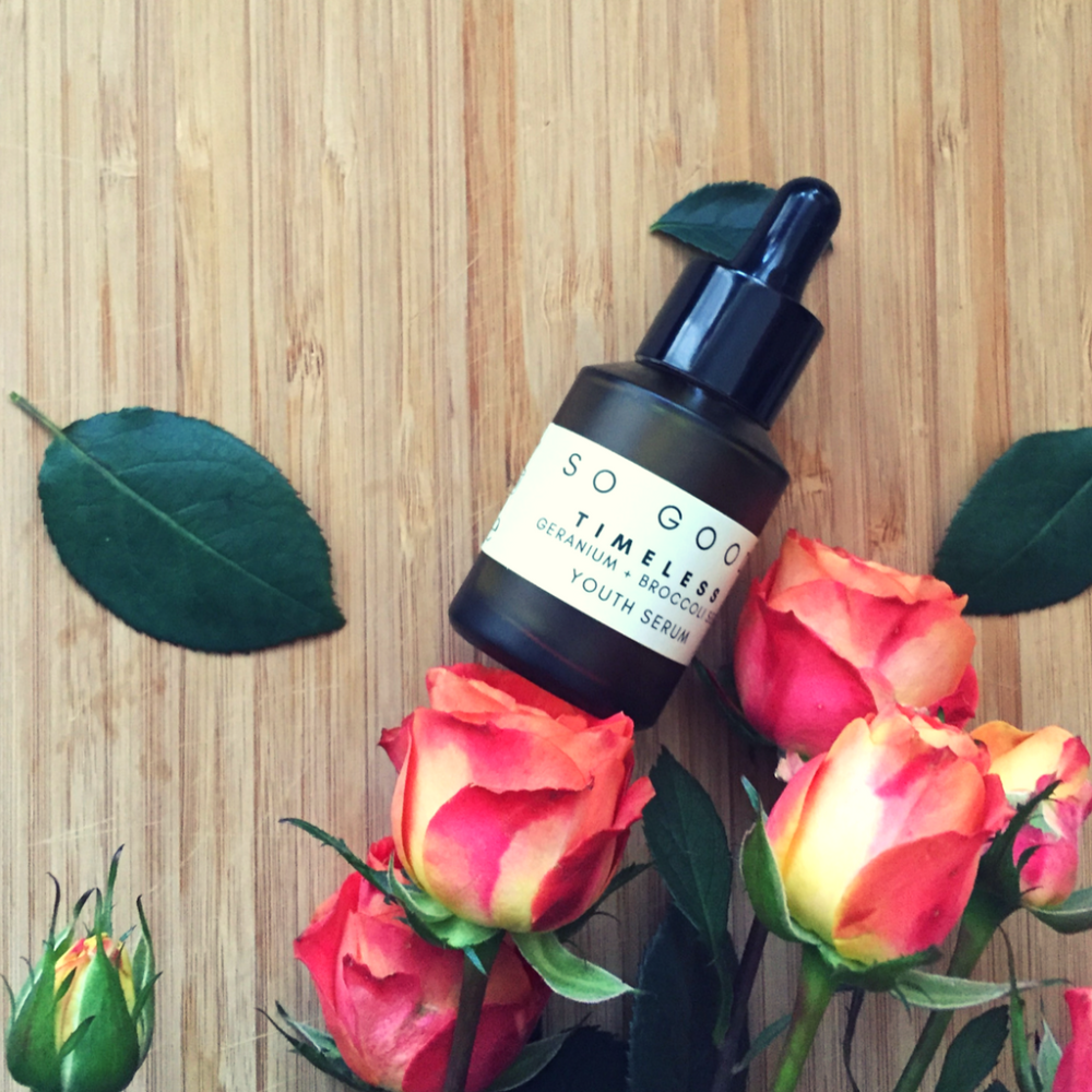 Timeless By So Good Botanicals - Beautiful Plant Powered Facial Serum